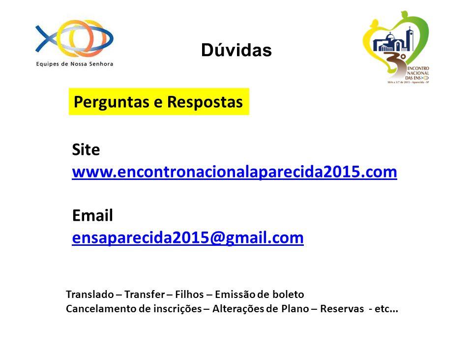 Site www.encontronacionalaparecida2015.com