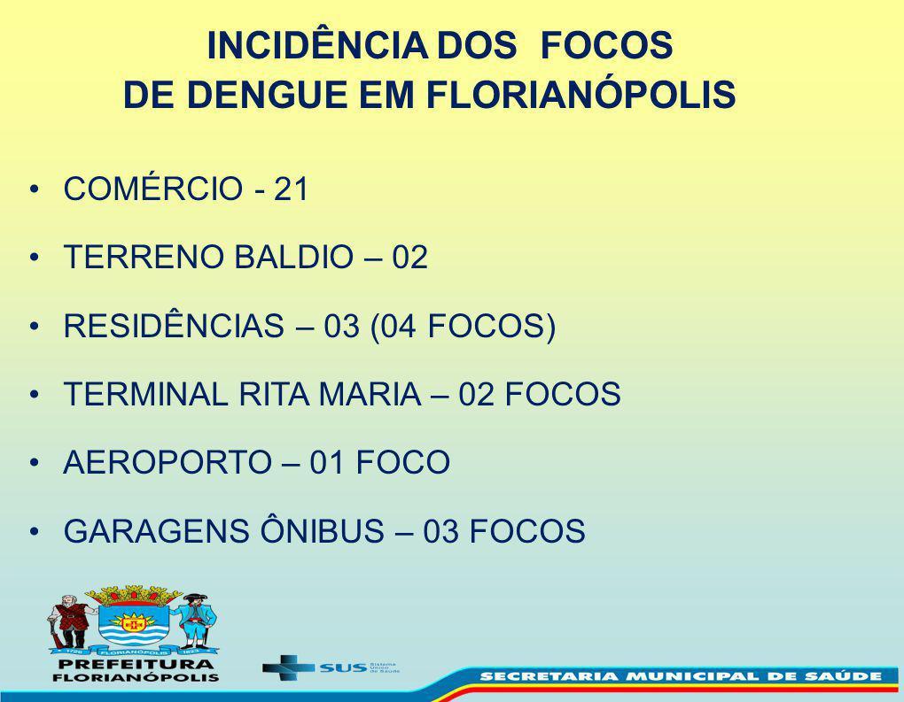 DE DENGUE EM FLORIANÓPOLIS
