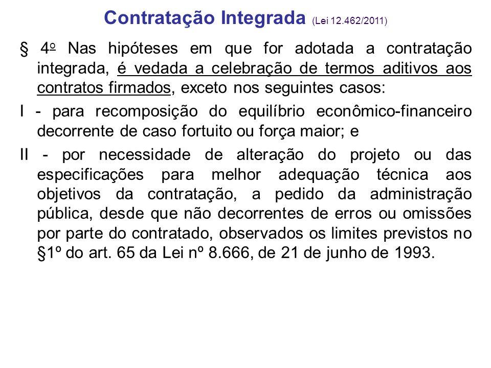 Contratação Integrada (Lei 12.462/2011)