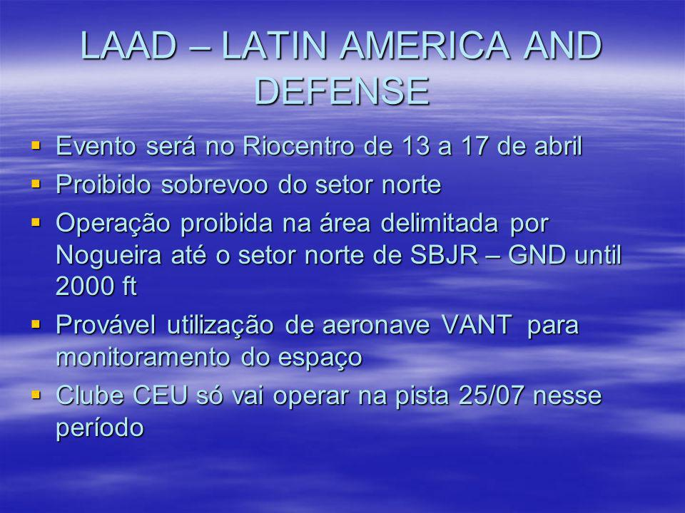 LAAD – LATIN AMERICA AND DEFENSE