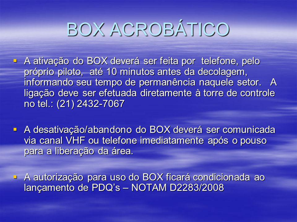 BOX ACROBÁTICO