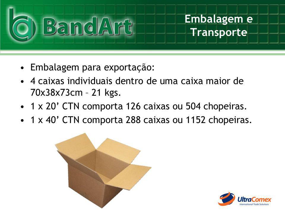 Embalagem e Transporte