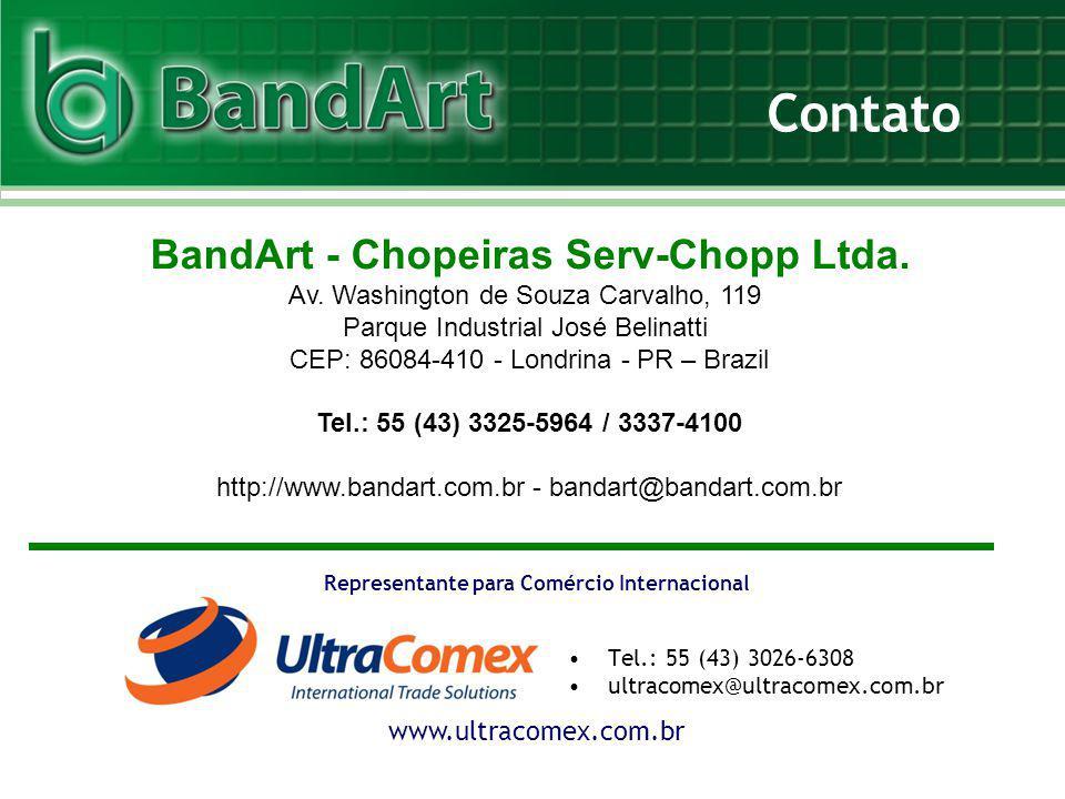 Contato BandArt - Chopeiras Serv-Chopp Ltda.