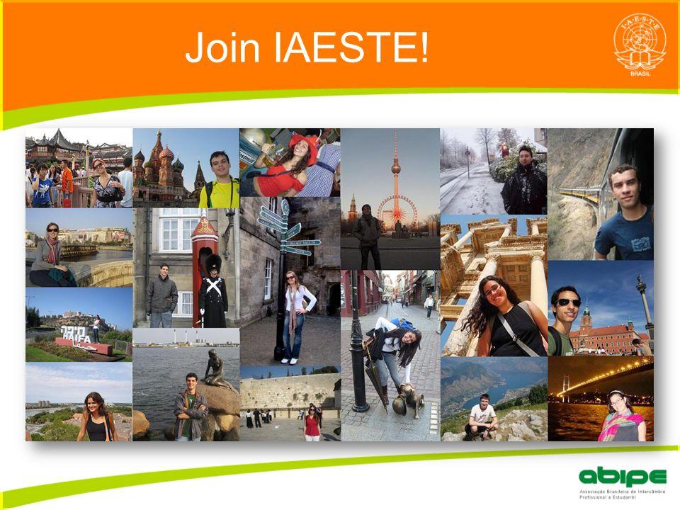 Join IAESTE! Quem é a ABIPE