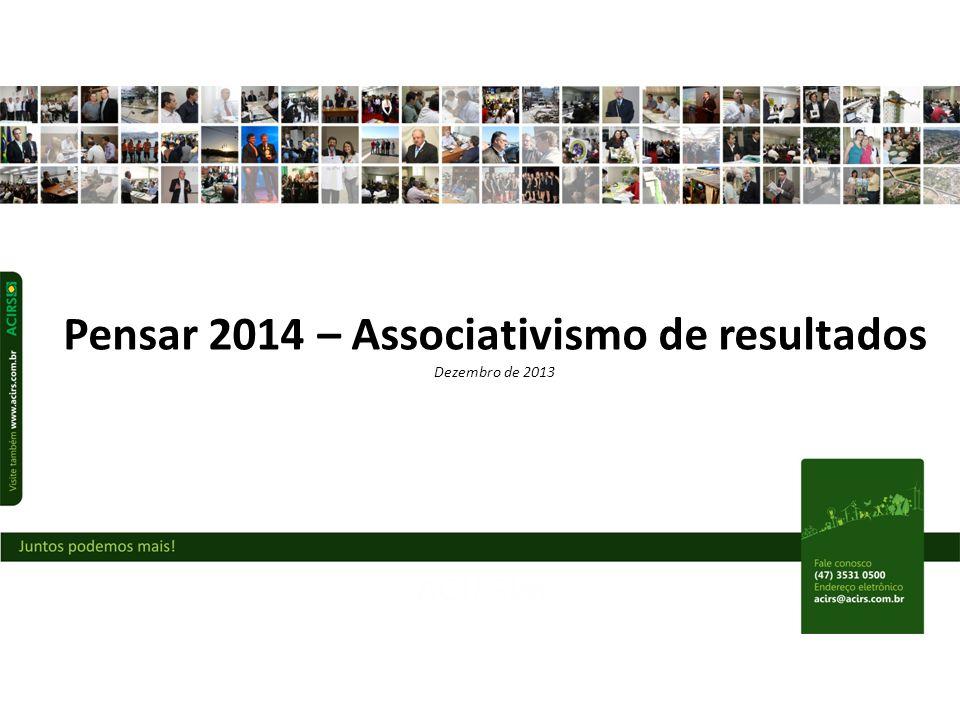 Pensar 2014 – Associativismo de resultados