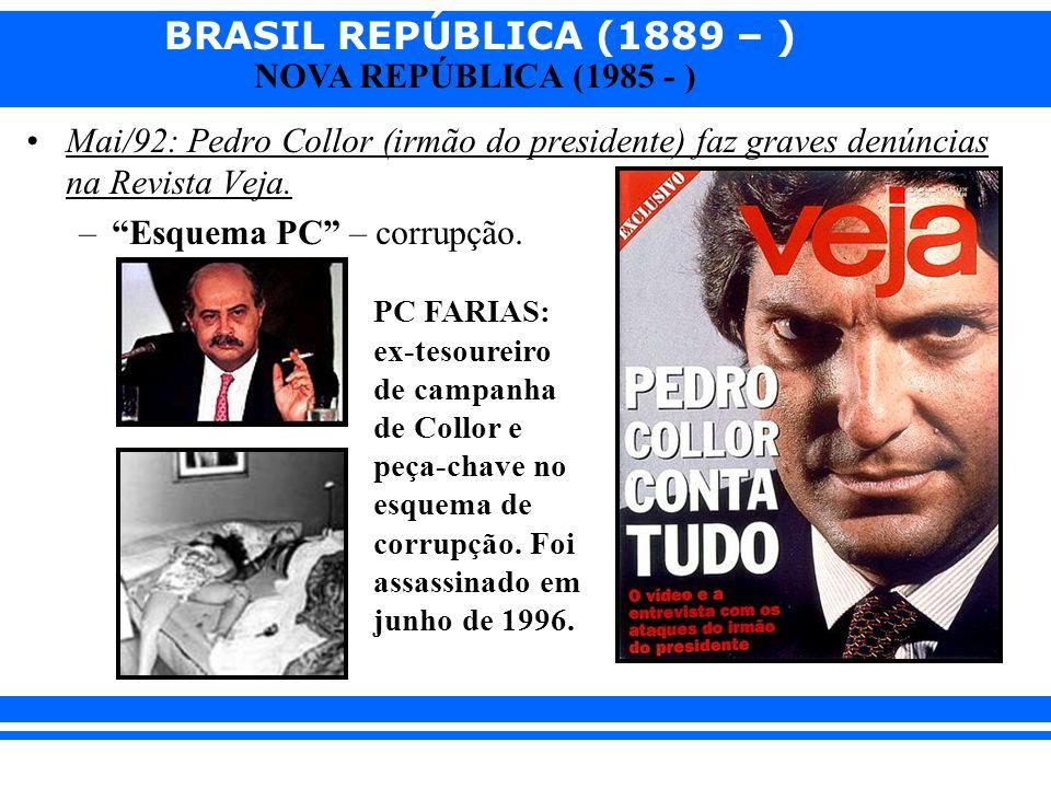 Esquema PC – corrupção.