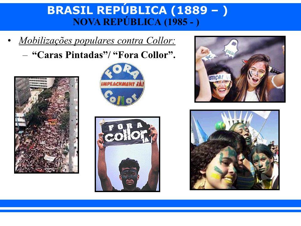 Mobilizações populares contra Collor: