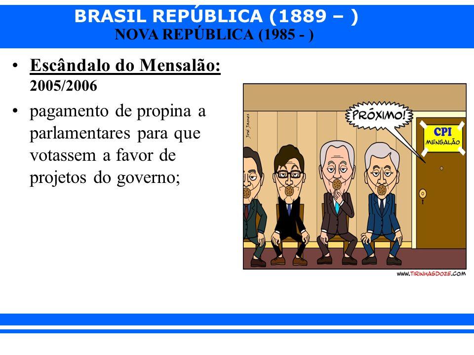 Escândalo do Mensalão: 2005/2006