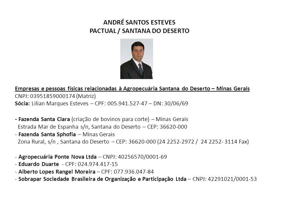 PACTUAL / SANTANA DO DESERTO