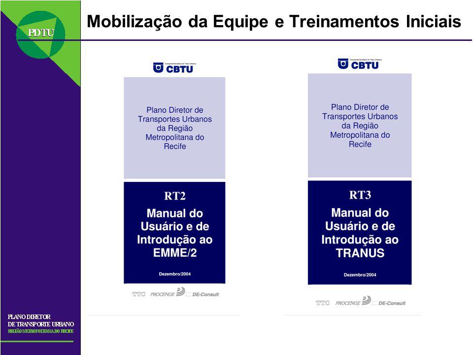Mobilização da Equipe e Treinamentos Iniciais