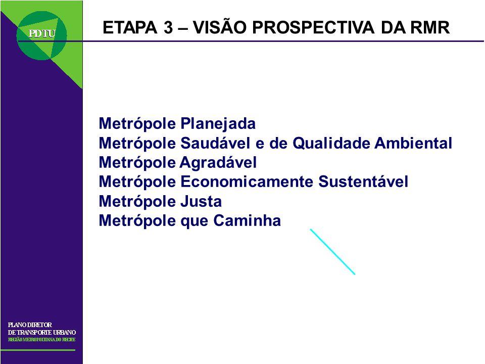 ETAPA 3 – VISÃO PROSPECTIVA DA RMR