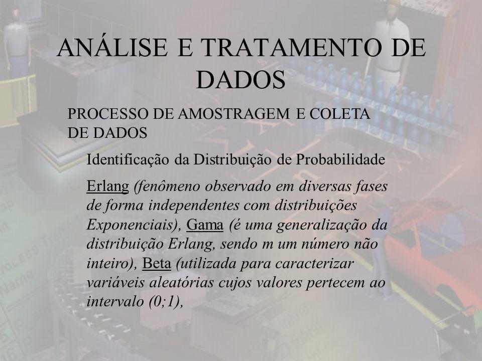 ANÁLISE E TRATAMENTO DE DADOS
