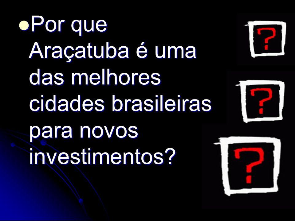 Por que Araçatuba é uma das melhores cidades brasileiras para novos investimentos