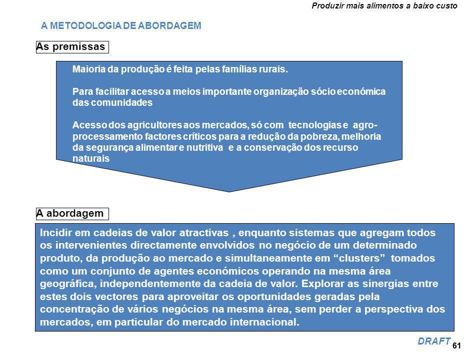 O modelo de desenvolvimento do Agro-Negócio