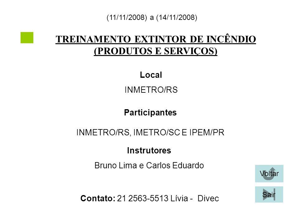 TREINAMENTO EXTINTOR DE INCÊNDIO (PRODUTOS E SERVIÇOS)