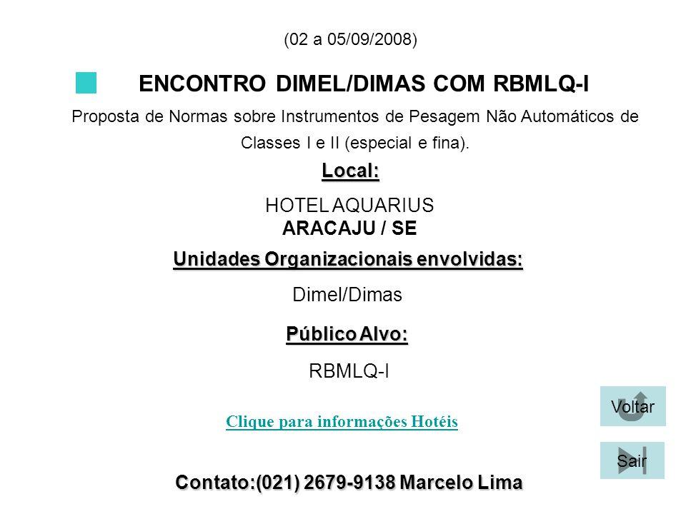 ENCONTRO DIMEL/DIMAS COM RBMLQ-I