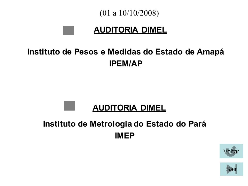 Instituto de Pesos e Medidas do Estado de Amapá IPEM/AP