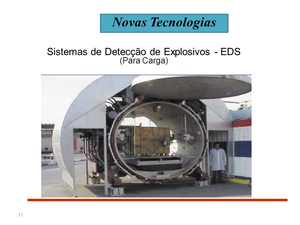 Sistemas de Detecção de Explosivos - EDS