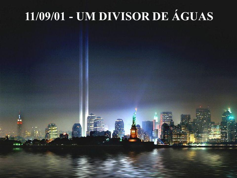 11/09/01 - UM DIVISOR DE ÁGUAS