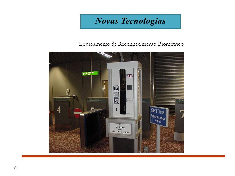 Equipamento de Reconhecimento Biométrico