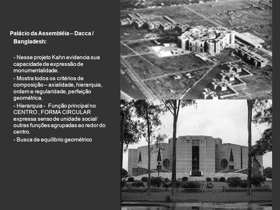 Palácio da Assembléia – Dacca / Bangladesh: