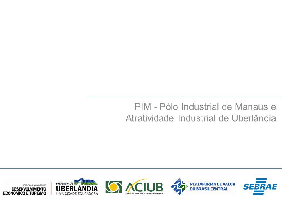 PIM - Pólo Industrial de Manaus e Atratividade Industrial de Uberlândia