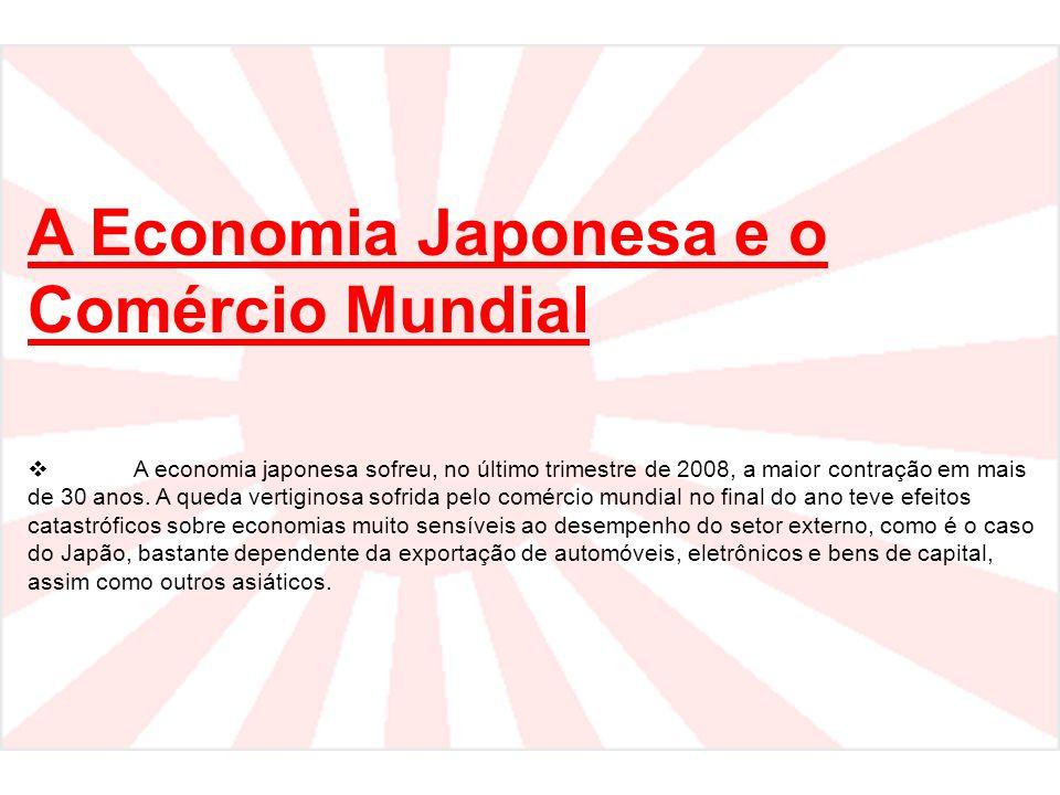 A Economia Japonesa e o Comércio Mundial