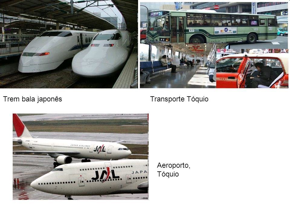 Trem bala japonês Transporte Tóquio Aeroporto, Tóquio