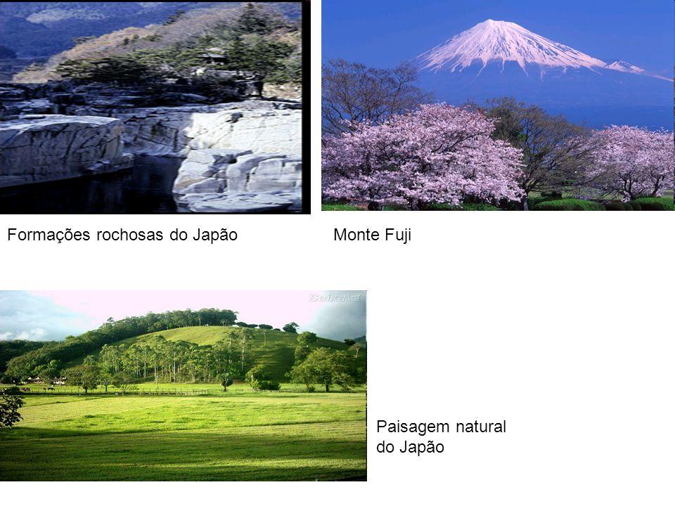 Formações rochosas do Japão