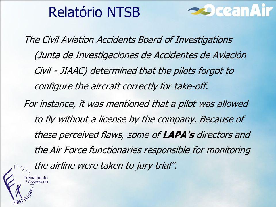 Relatório NTSB