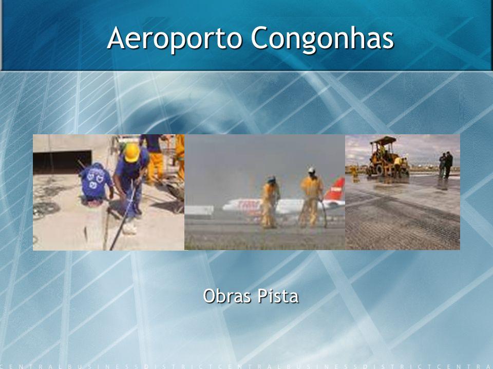 Aeroporto Congonhas Obras Pista