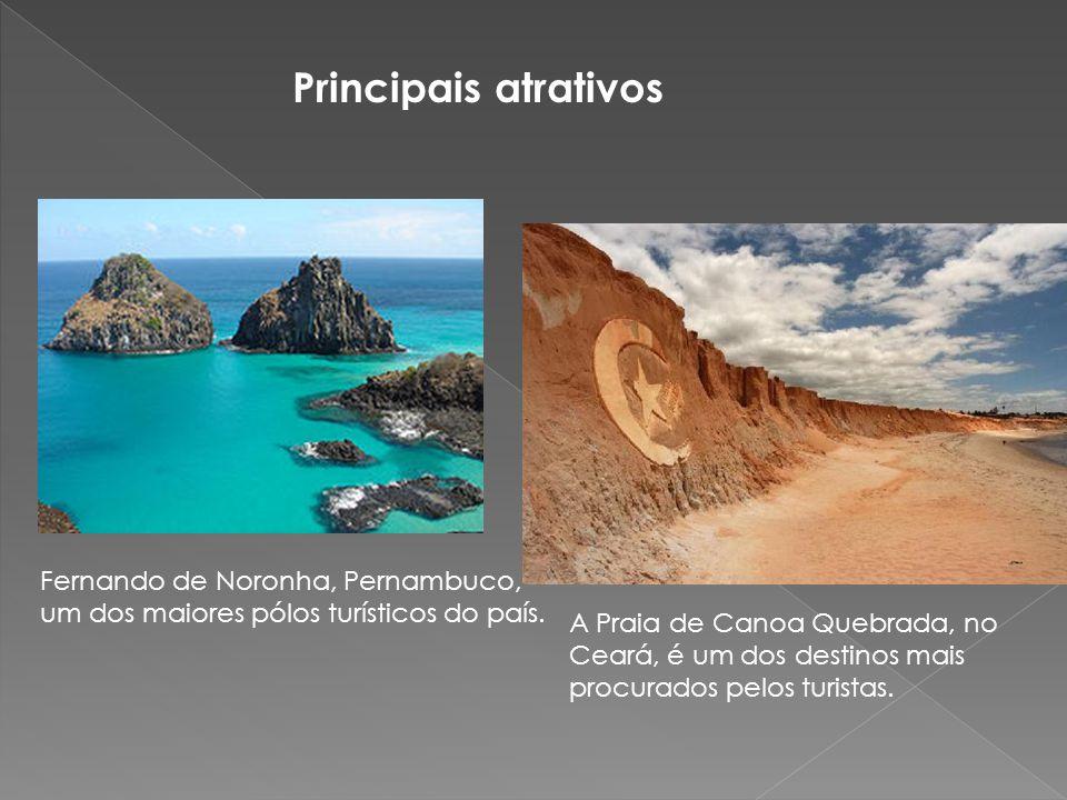 Principais atrativos Fernando de Noronha, Pernambuco, um dos maiores pólos turísticos do país.