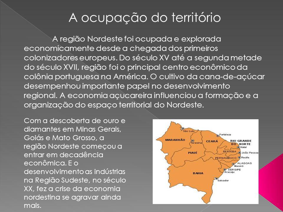 A ocupação do território