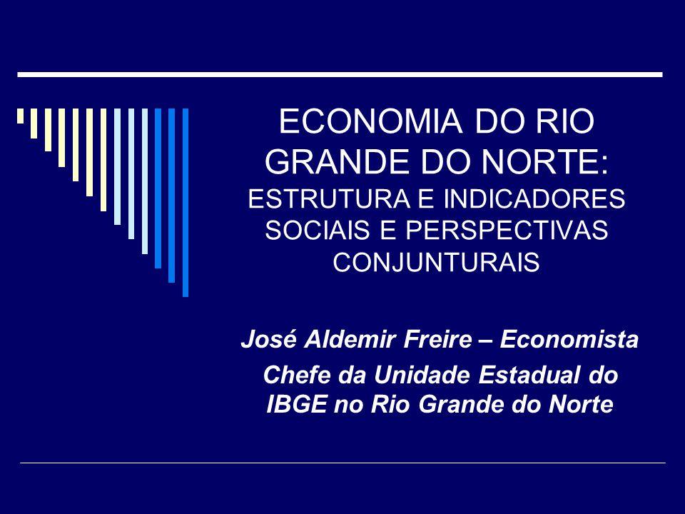 ECONOMIA DO RIO GRANDE DO NORTE: ESTRUTURA E INDICADORES SOCIAIS E PERSPECTIVAS CONJUNTURAIS