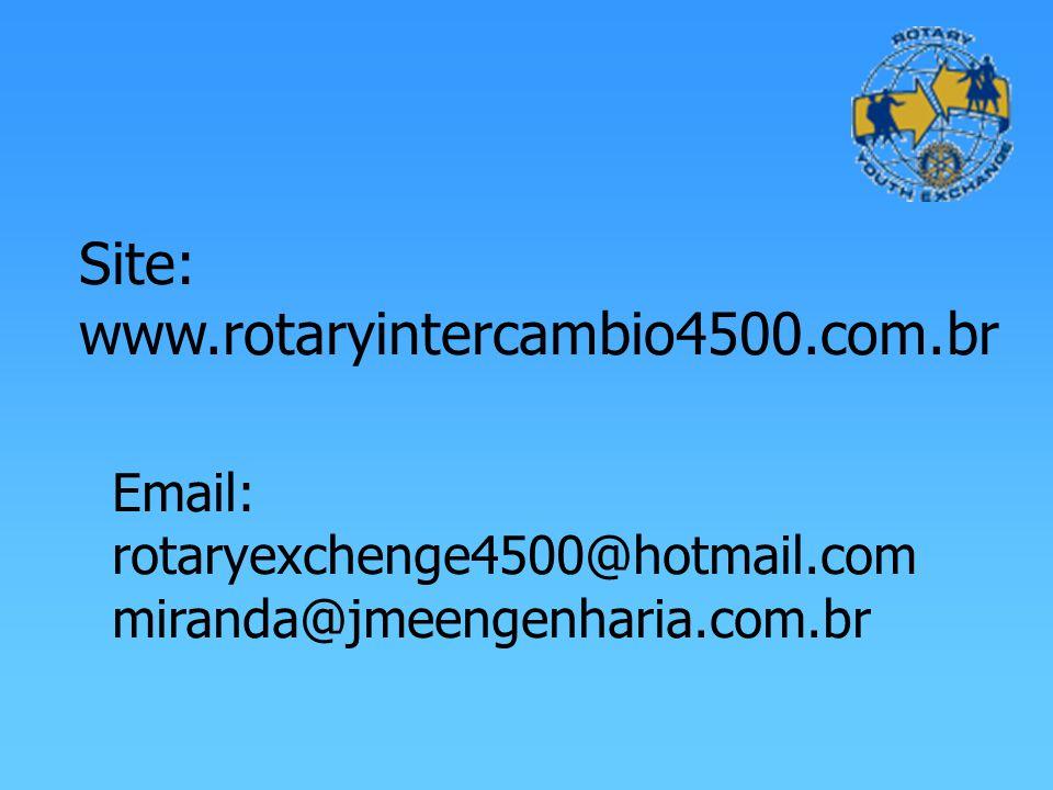 Site: www.rotaryintercambio4500.com.br
