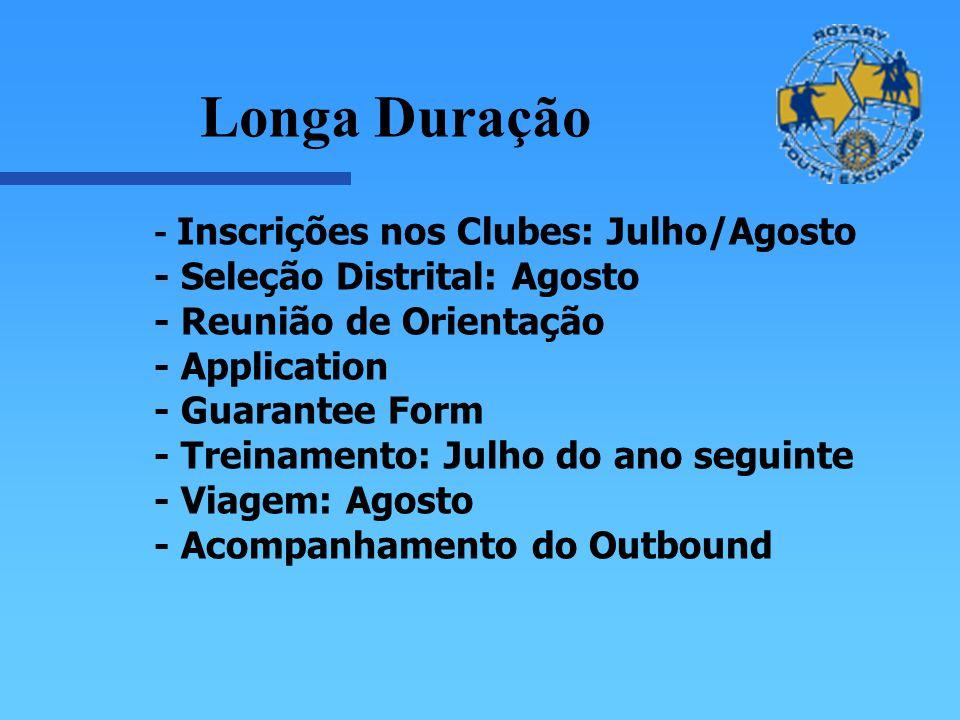 Longa Duração - Seleção Distrital: Agosto - Reunião de Orientação