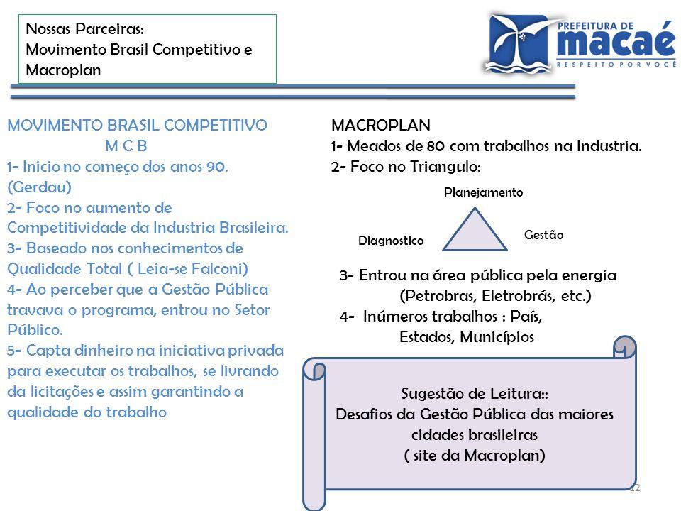 Desafios da Gestão Pública das maiores cidades brasileiras
