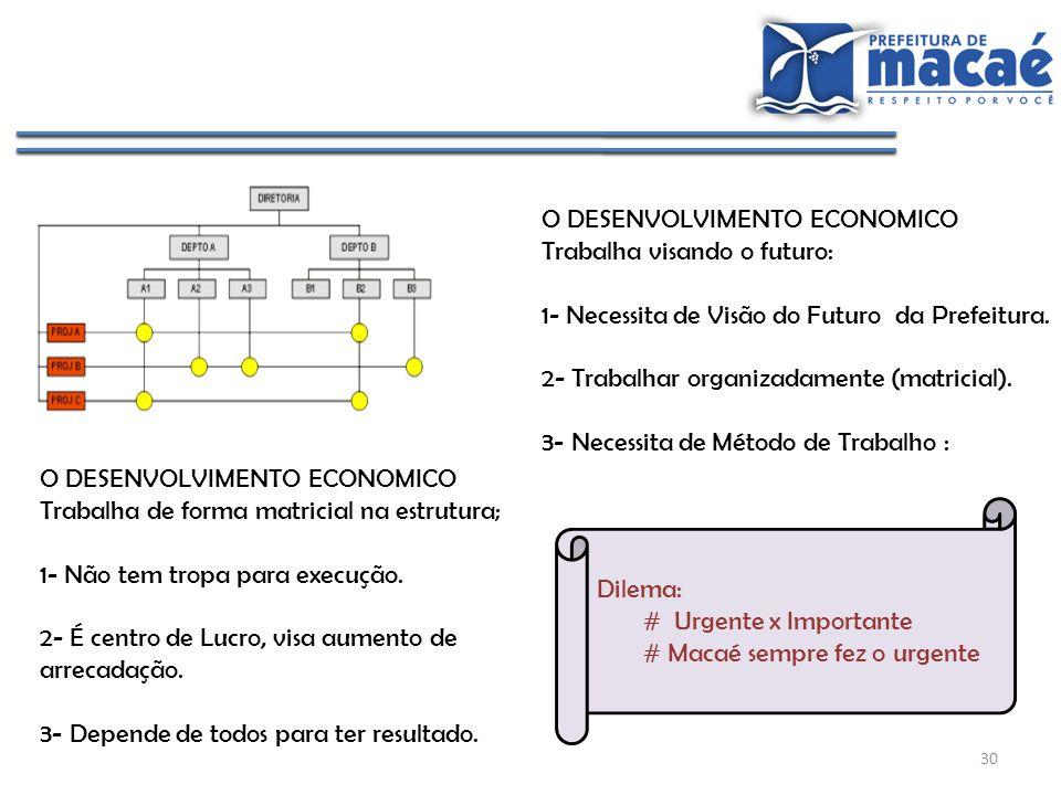 O DESENVOLVIMENTO ECONOMICO
