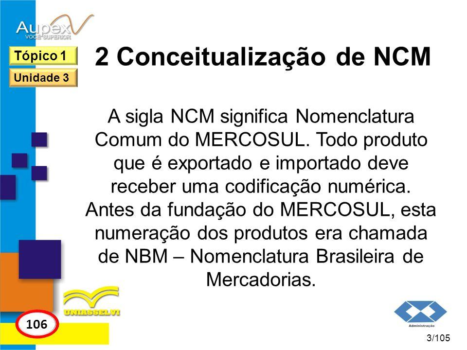 2 Conceitualização de NCM