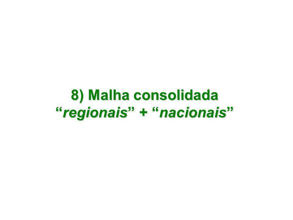 regionais + nacionais