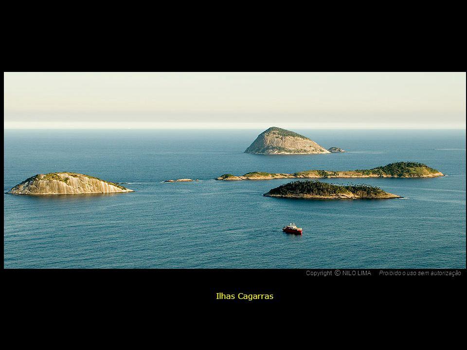 Copyright NILO LIMA Proibido o uso sem autorização c O Ilhas Cagarras