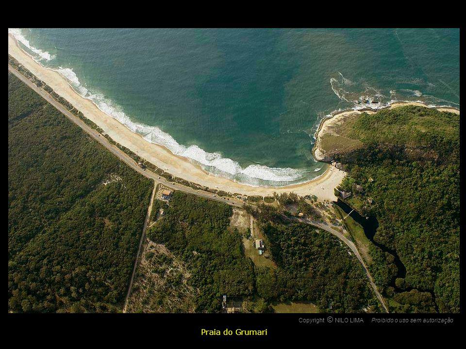 O Praia do Grumari Copyright NILO LIMA Proibido o uso sem autorização