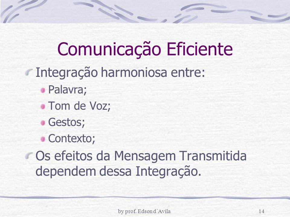 Comunicação Eficiente
