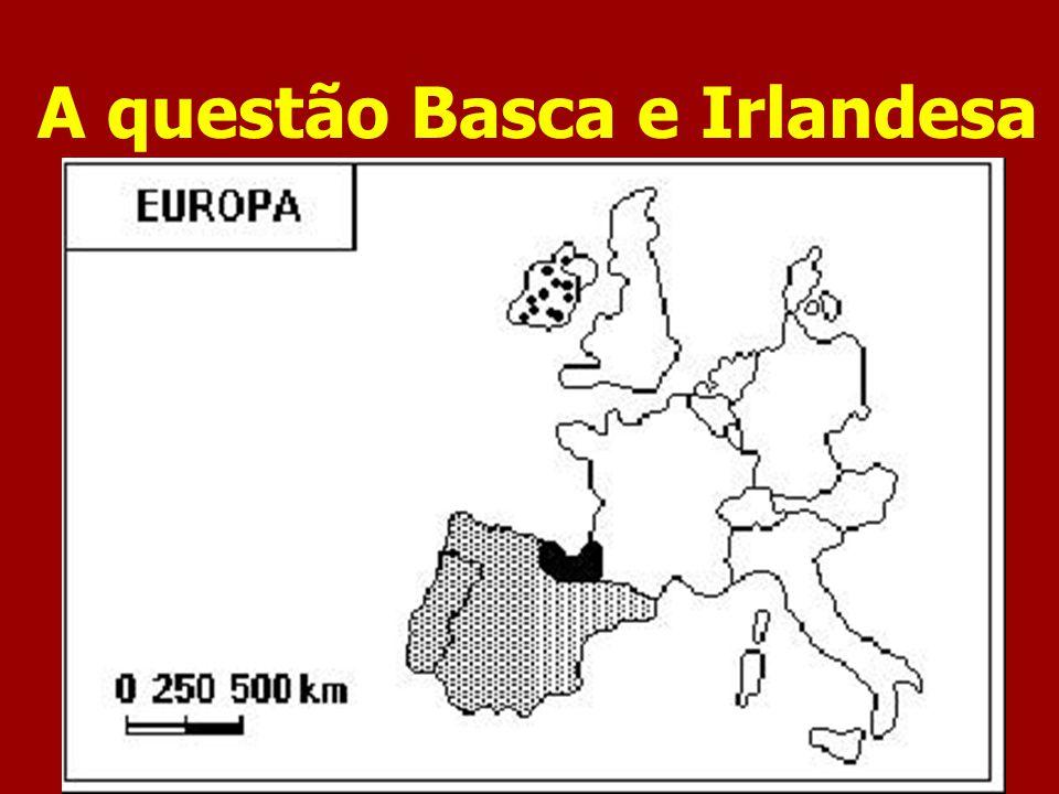 A questão Basca e Irlandesa