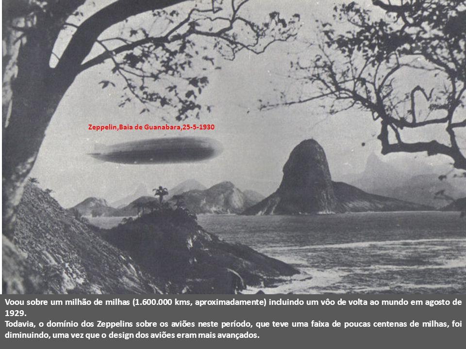 Zeppelin,Baia de Guanabara,25-5-1930