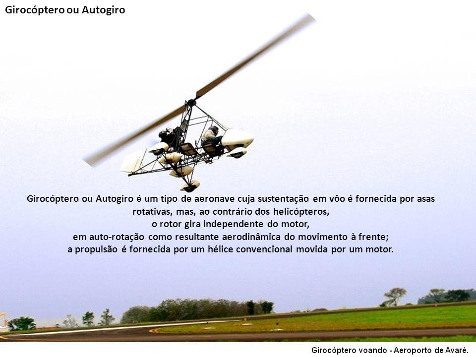 Girocóptero ou Autogiro