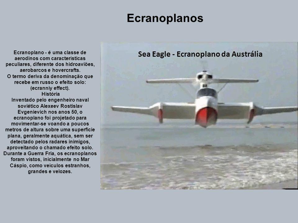 Sea Eagle - Ecranoplano da Austrália