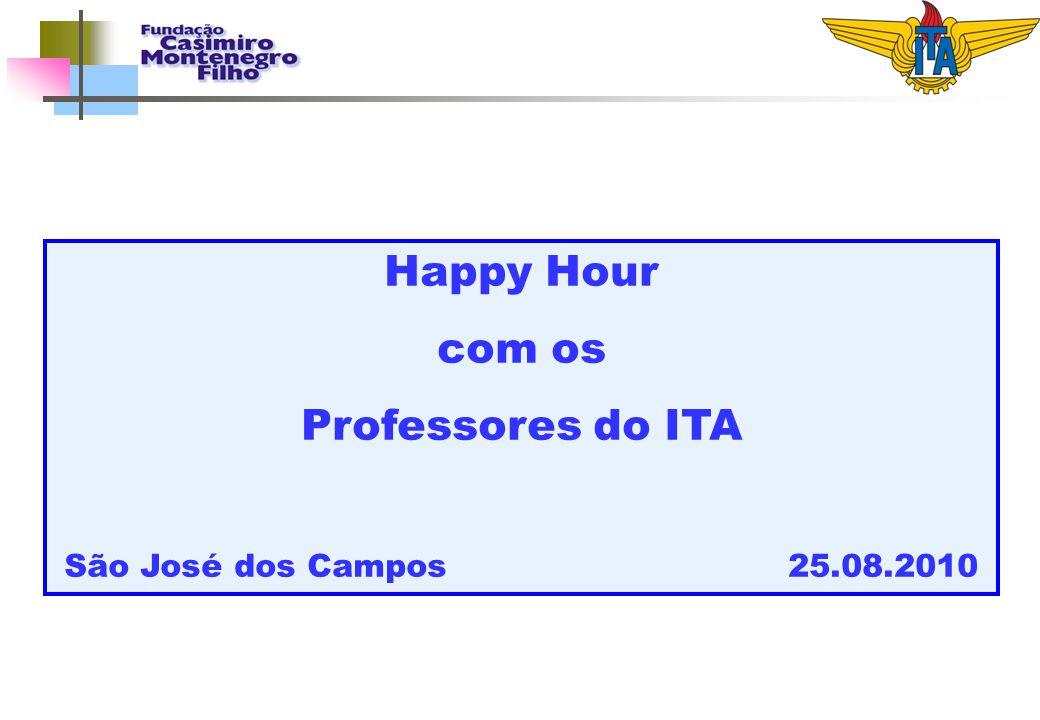 Happy Hour com os. Professores do ITA. São José dos Campos 25.08.2010.