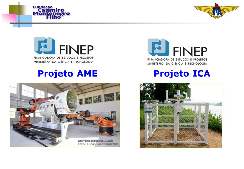 Projeto AME Projeto ICA 13