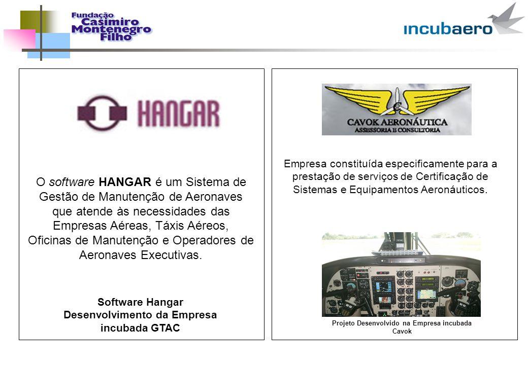 O software HANGAR é um Sistema de Gestão de Manutenção de Aeronaves